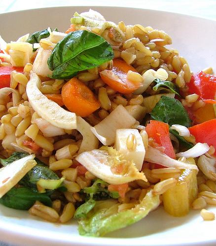 Insalata di kamut al profumo di mare progetto alimentazione - Cucinare olive appena raccolte ...